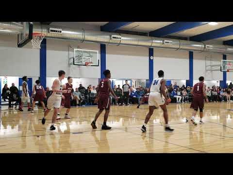 Pearson 3-pointer - Pierce at Grays Harbor College - Men's Basketball