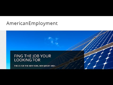 Find a Job at ( American Employment Jobs)