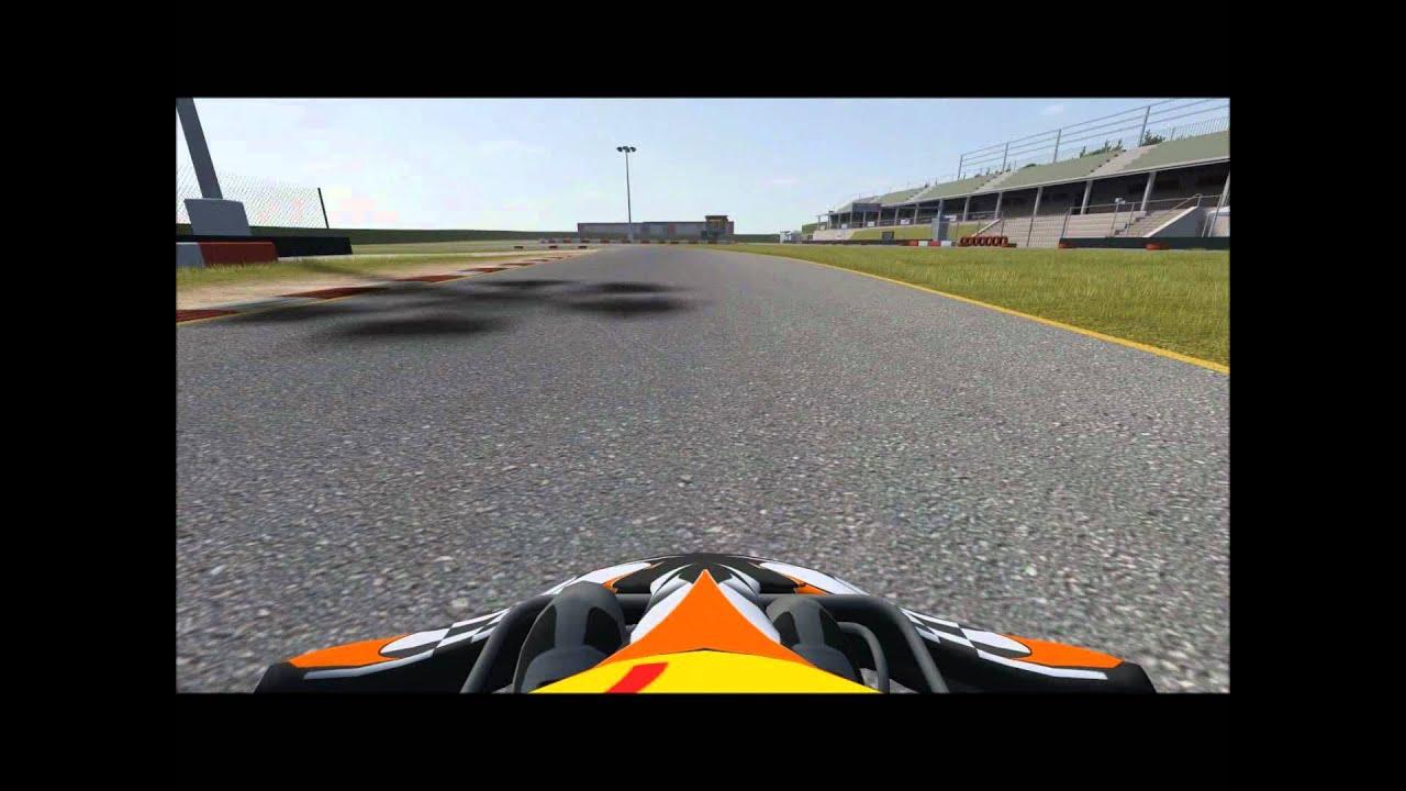 Kart Racing Pro(KRP) Lonato Lap - YouTube