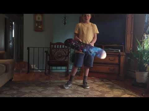 Fun easy skateboard trick