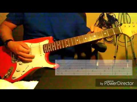 How to play aerials on guitar and tab