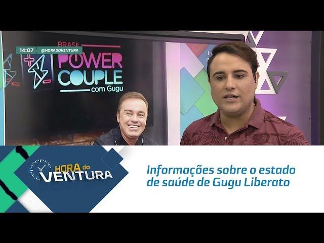 Informações atualizadas sobre o estado de saúde de Gugu Liberato - Bloco 01
