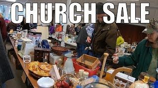 Rummage Sale Treasure Hunting and Scrap Metal Trash into Cash