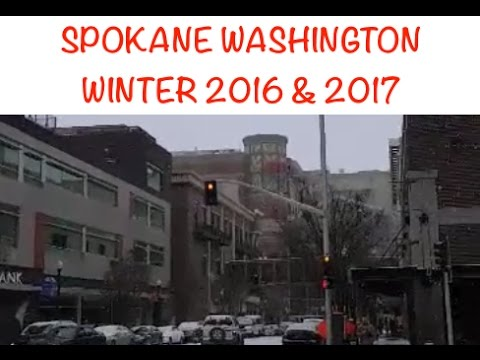 🏙Spokane, Washington Winter 2016 & 2017❄️
