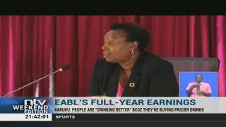 EABL reports 1% decline in net profit