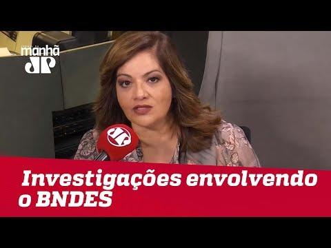 Detalhamento das investigações envolvendo o BNDES podem vir à tona | #DeniseCamposdeToledo