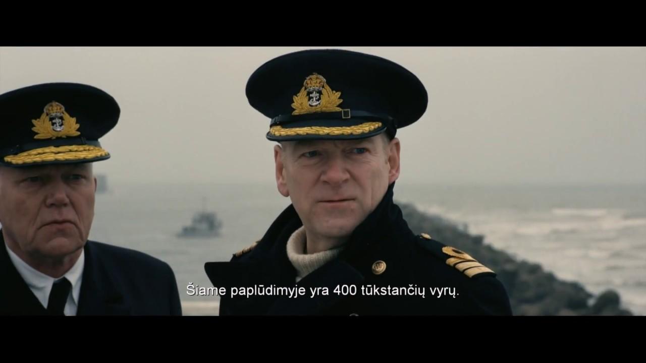 DIUNKERKAS - naujausias filmų