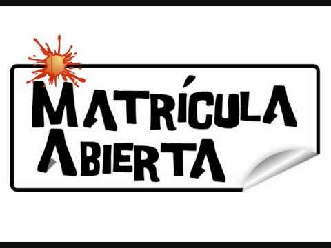 Resultado de imagen de MATRICULA ABIERTA