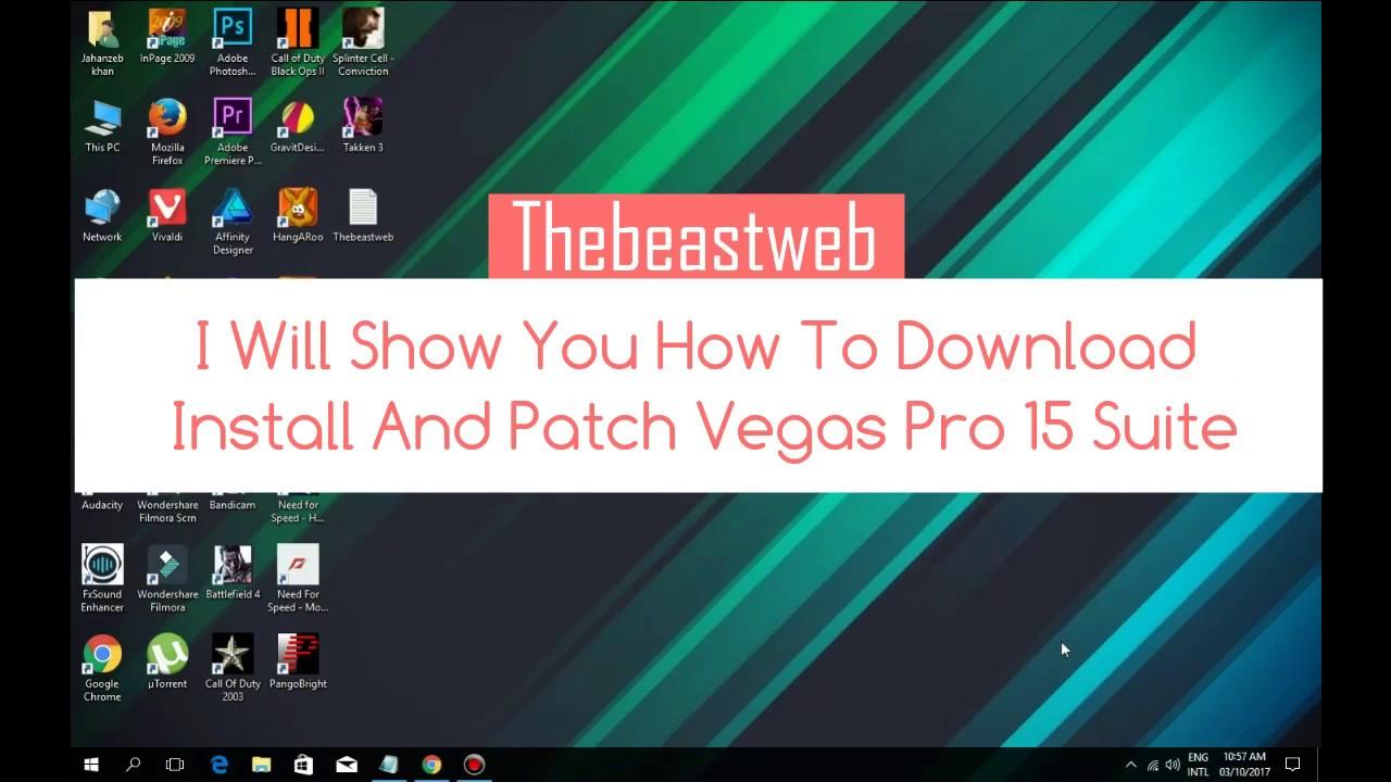 vegas pro 15 download patch