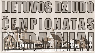 2021m. LIETUVOS DZIUDO SUAUGUSIŲJŲ ČEMPIONATAS – TATAMIS 2