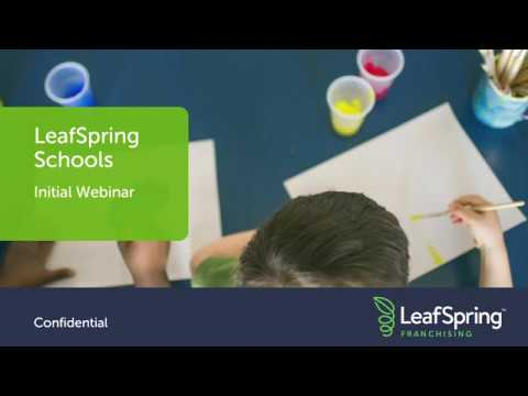 LeafSpring School Initial Webinar