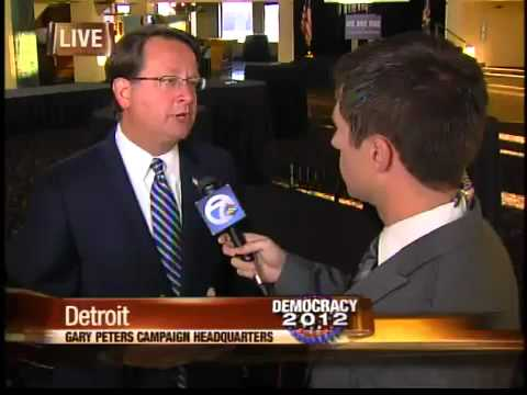 Election webcast: Gary Peters talks about his race