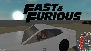 Fast and the Furious ending scene | Roblox