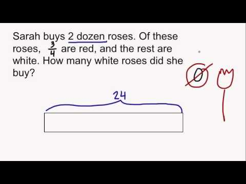 Tape Diagrams And Fractions Youtube