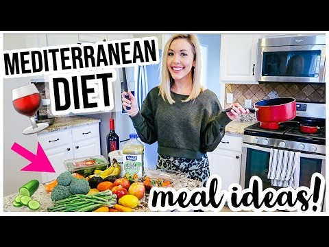 MEDITERRANEAN DIET WHAT I EAT IN A DAY! ������HEALTHY LIFESTYLE + WEIGHT LOSS MEAL IDEAS | Brianna K
