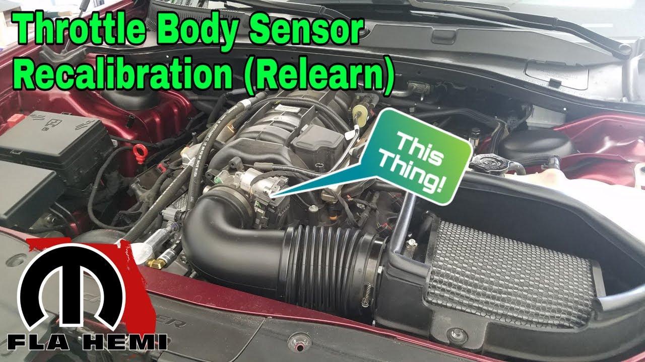 Throttle Body Sensor Recalibration (Relearn) // Fuse pull recap