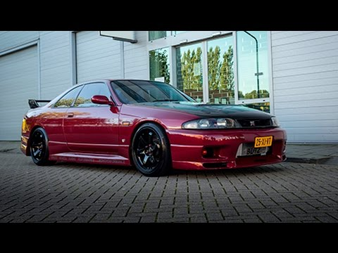 Free Car History Report >> Nissan Skyline R33 GTS-t 500HP | Acceleration, Burnout ...