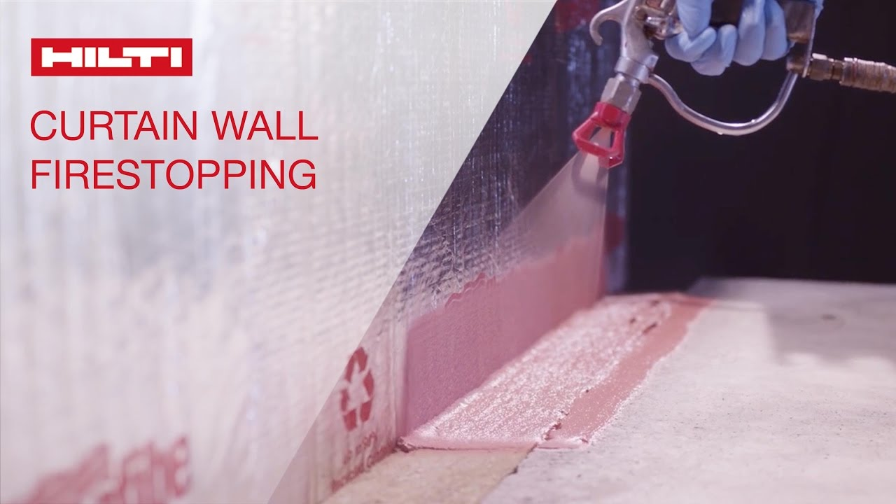 Secondary Attributes of Firestop - Curtain Wall - YouTube
