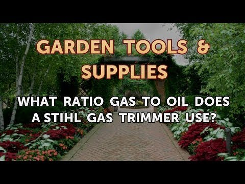What Ratio Gas To Oil Does A Stihl Trimmer Use
