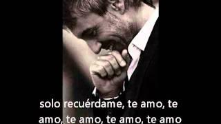 Letra de Te Amo - Sergio dalma