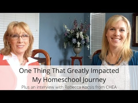 One Thing That Greatly Impacted My Homeschool Journey