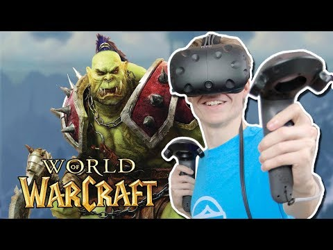 WORLD OF WARCRAFT IN VIRTUAL REALITY!  | WoW: Dalaran VR (HTC Vive Gameplay)