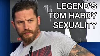 Tom Hardy Legend Interview Sexuality Question TIFF 2015 Press Conference Gets Shutdown, MySpace Leak