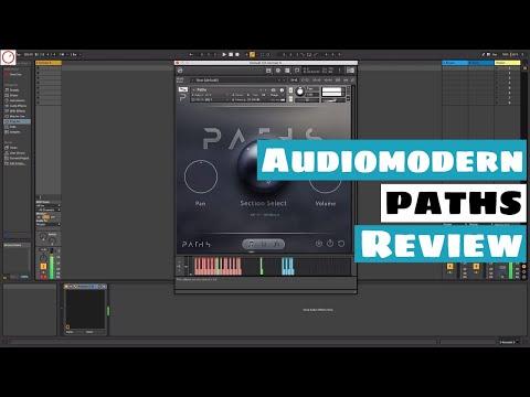 Audiomodern PATHS Review - Loop Based Kontakt 5 Virtual Instrument   SYNTH ANATOMY