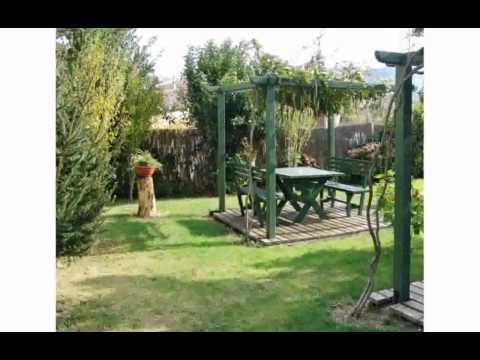 Fotos de jardines de casa cherirada youtube for Casas rusticas con jardin