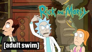 Rick and Morty | Ruining Summer's First Job | Adult Swim UK