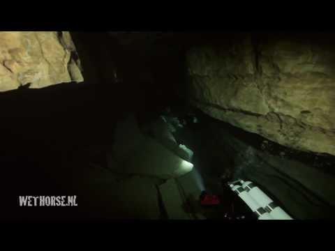 Emergence du Ressel - cave diving in France