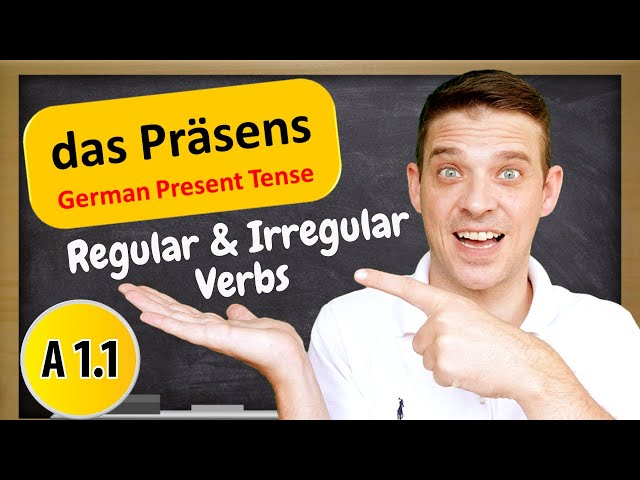 German Tenses | The German Present Tense Explained | A1 Beginner