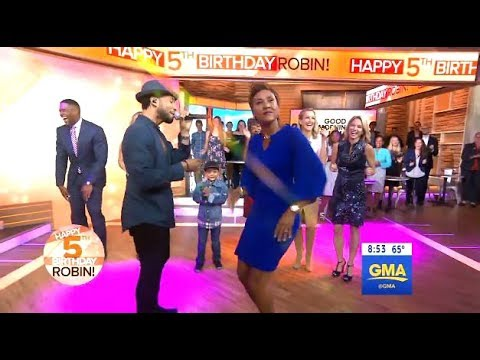 Jussie Smollett - Performs You Are So Beautiful (Robin's 5th Birthday)