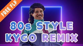 How To Make a 80s Style Kygo Remix | FREE FLP [FL Studio Tutorial]