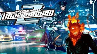 Запах палёной резины   ♠  Need for Speed Underground 2