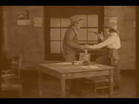"""Rounding up the Law"" 1922 scene"