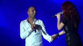 ARASH Feat EMELIE Broken Angel Live Media City Amphitheatre Dubai Jan 21 2012