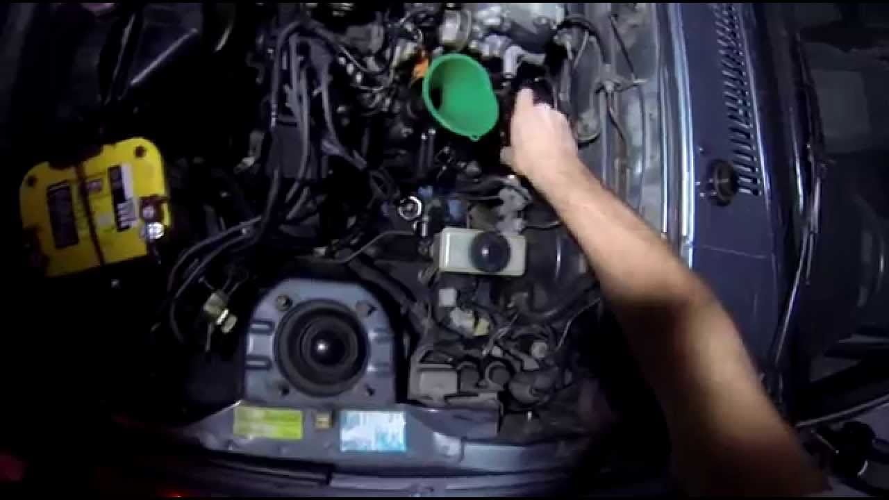 Rx7 Ep08 Mazda Rx 7 Engine Oil Change Youtube Fd Fuel Filter