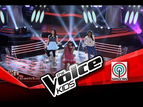 """The Voice Kids Philippines Battles """"Telephone"""" by Kyle, Rica, and Khen"""