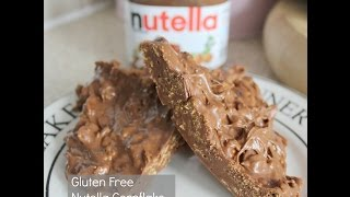 How To: Nutella Cornflake Cakes