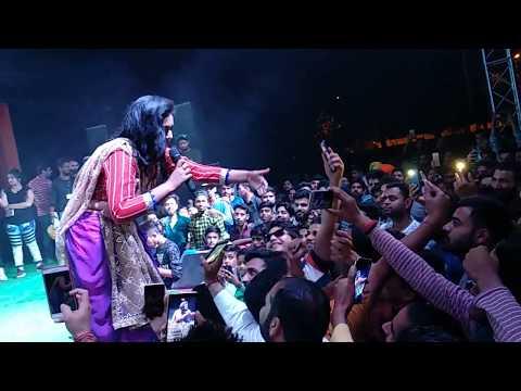 Anjusha Sharma Live Performance Full song  Jammu