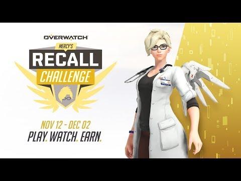 Overwatch's Mercy's Recall challenge is now live