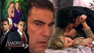 Amores Verdaderos: ¡Nelson intenta abusar de Victoria! | Escena - C44 | Tlnovelas