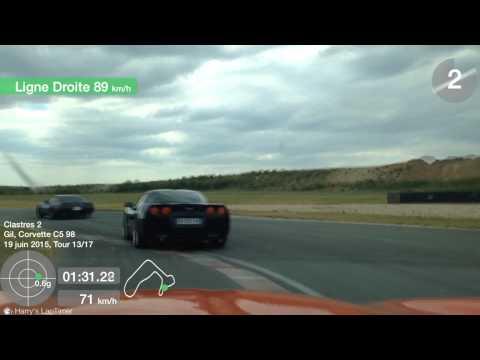 roulage circuit de clastres 19 juin 2015 Corvette C4 vs C5 vs C6
