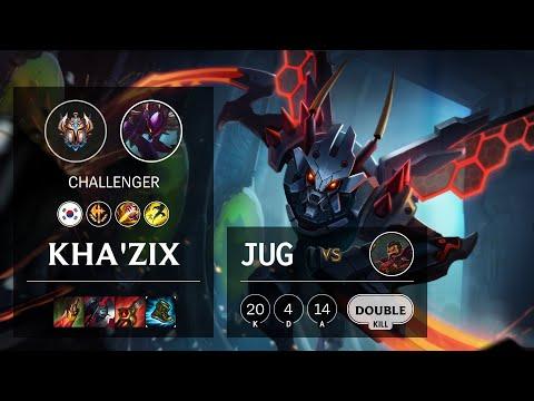 Kha'Zix Jungle vs Graves - KR Challenger Patch 10.15