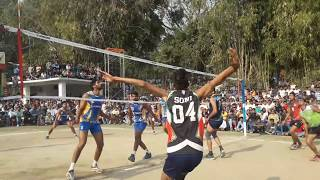 Hp Vs Punjab Police Match HD |Volleyball Match| Video Made By iPhone|