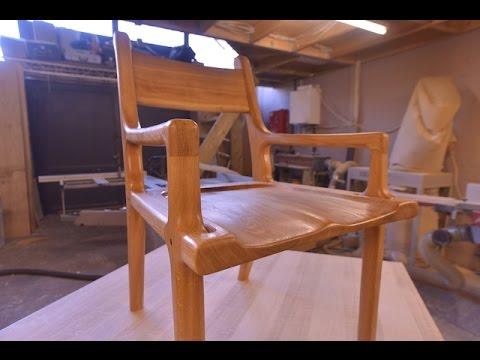 Hand carved oak chair www.ch-oakdesign.co.uk