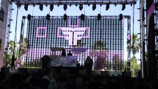 "Flight Facilities feat. Owl Eyes - ""Foreign Language"" @ Coachella 2014"