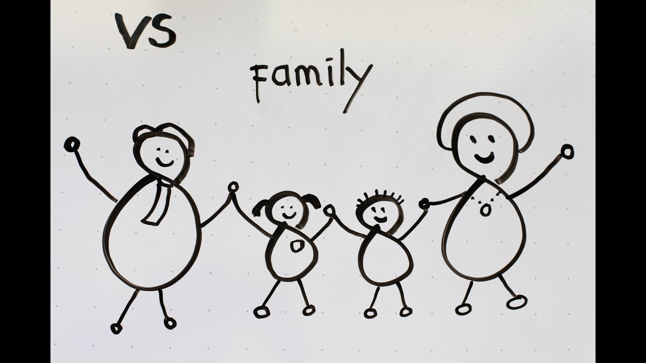 15 kids tutorial how to draw a family in 3 minutes simple easy fun vivi santoso - Fun Easy Drawings For Kids
