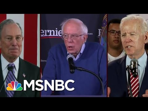 Bernie Sanders, Joe Biden, Mike Bloomberg Statistically Tied In Va. | Morning Joe | MSNBC